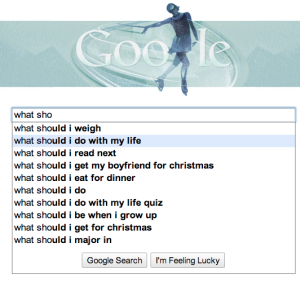 Google, what should I do?