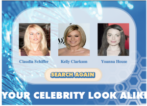My Celebrity Look-a-likes