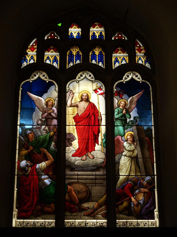 Stained Glass Resurrection